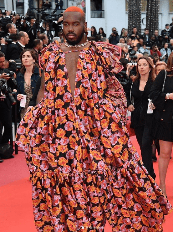 DJ Kiddy Smile on the red carpet at the 72nd annual Cannes Film Festival on May 17, 2019. | Photo: Instagram/Kiddy Smile