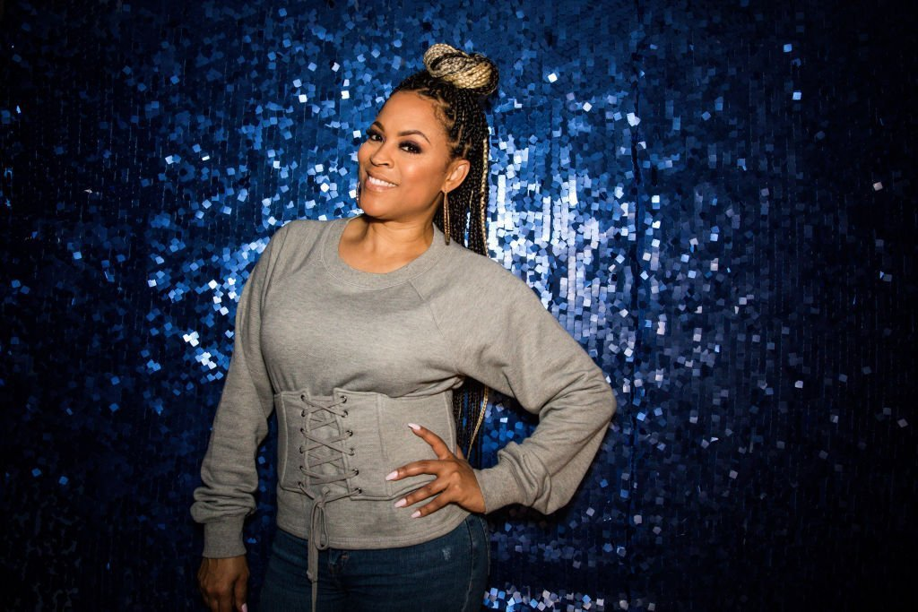 Shaunie O'Neal poses at Shareef O'Neal's 18th birthday party at West Coast Customs in Burbank, California   Photo: Getty Images
