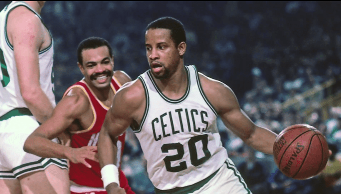 Ray Williams playing for the Boston Celtics | Photo: YouTube/Ray WilliamsFoundation