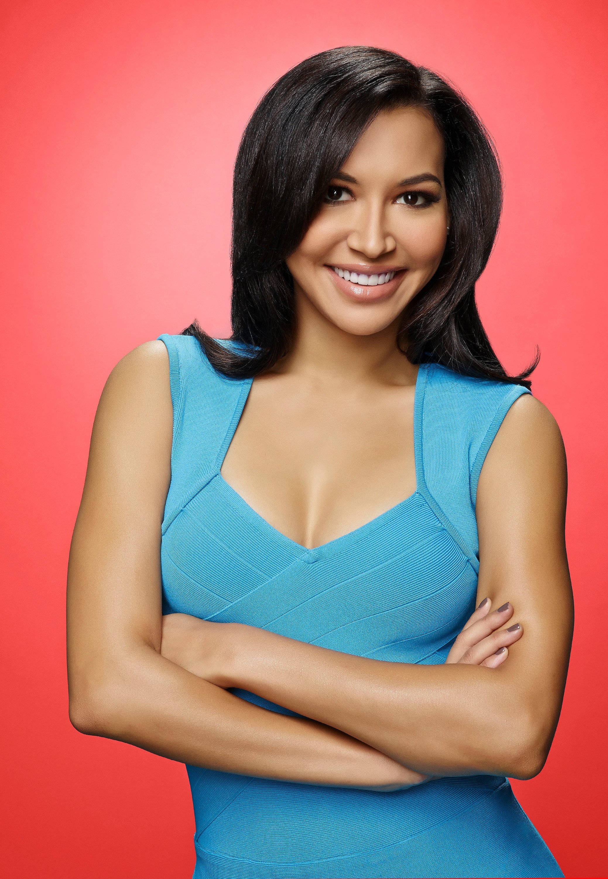 "Naya Rivera as Santana on the sixth and final season of ""GLEE"" in January 2015. 