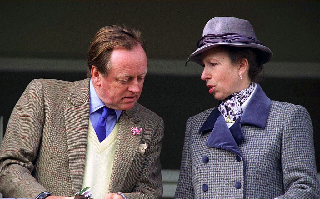 Princess Anne At Cheltenham Races Chatting With Her Friend Andrew Parker-bowles on March 13, 1997. | Photo: Getty Images