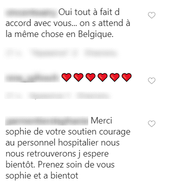 Commentaires des fans sur la video de Sophie Davant. | Photo : Instagram / Sophie Davant