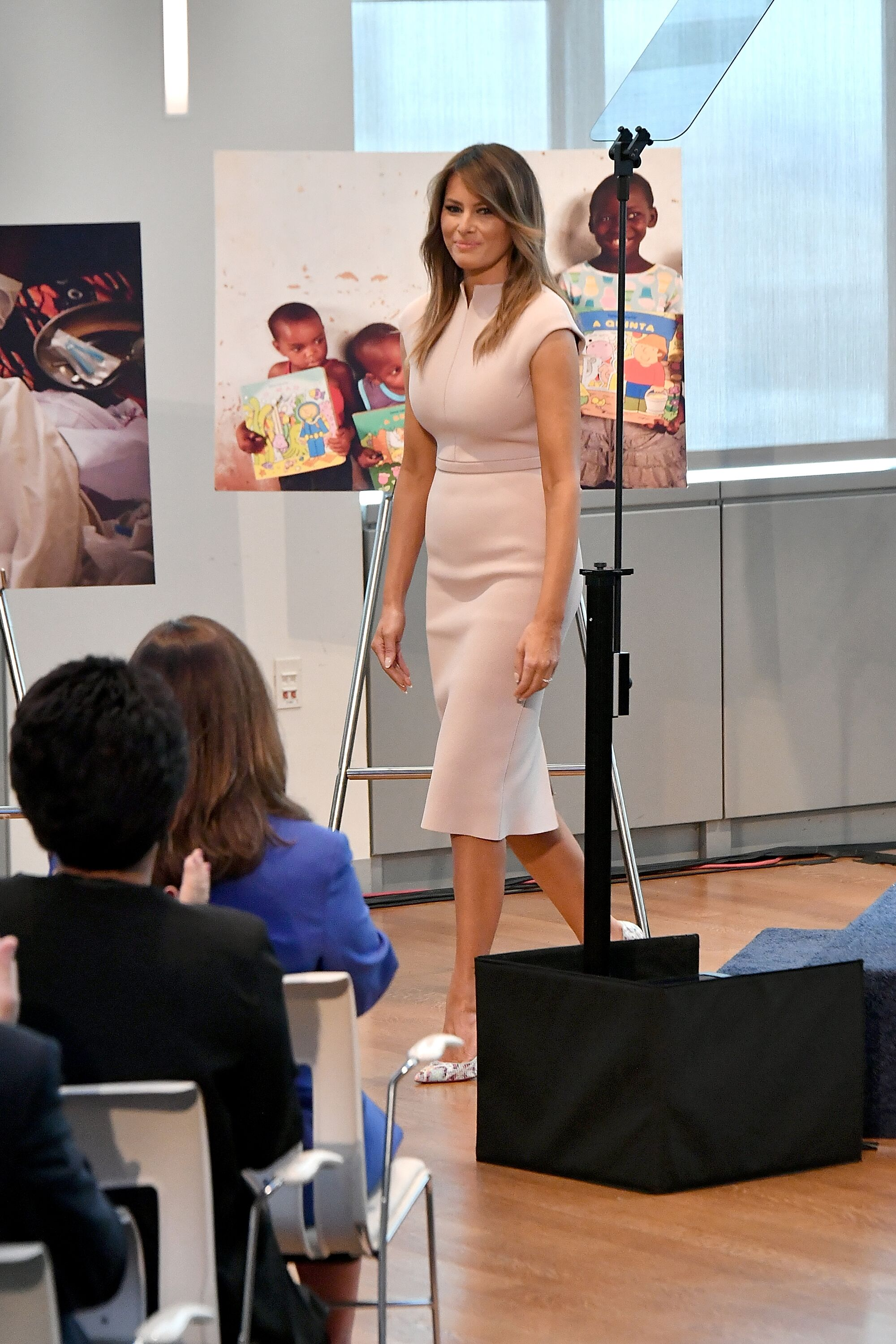 "Melania Trump during her ""Be Best"" campaign 
