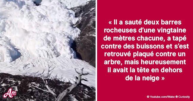 L'homme a survécu à l'avalanche grâce au téléphone : il a envoyé le SMS étant deux heures sous la neige