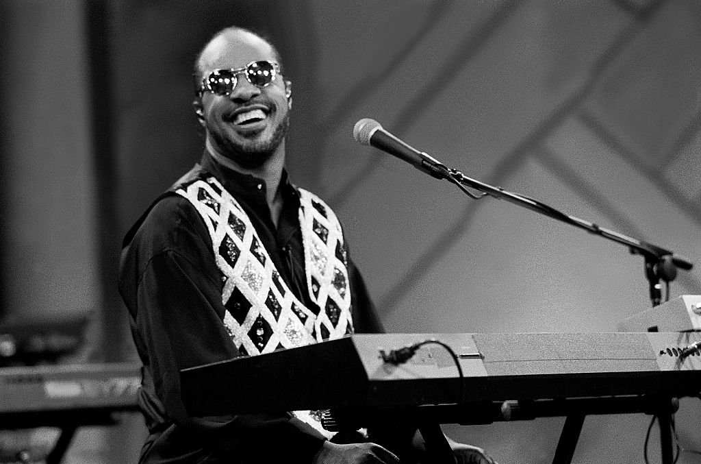 "Stevie Wonder in der ""Oprah Winfrey Show"", 9. Juni 1991 