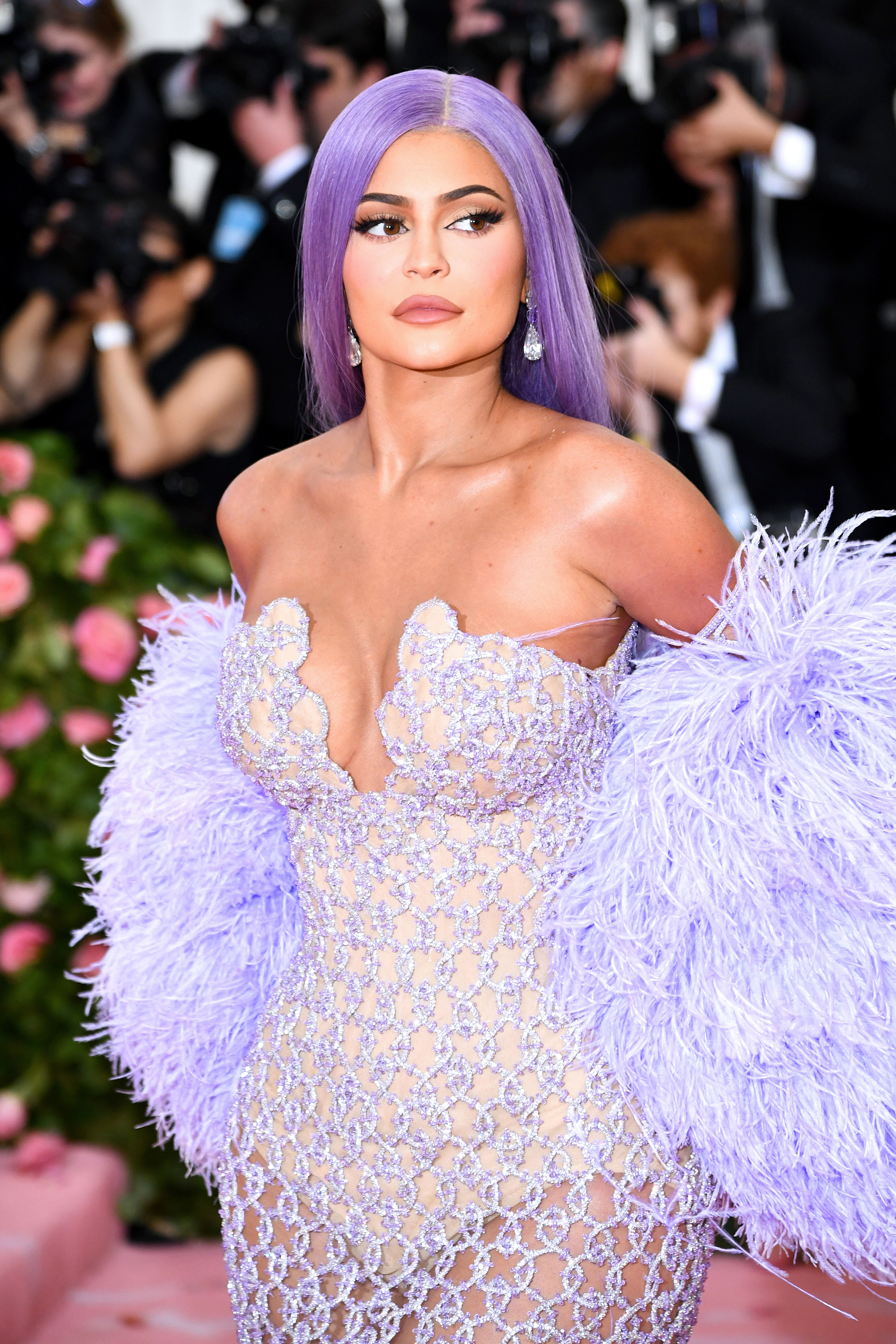 Kylie Jenner at the MET Gala/ Source: Getty Images