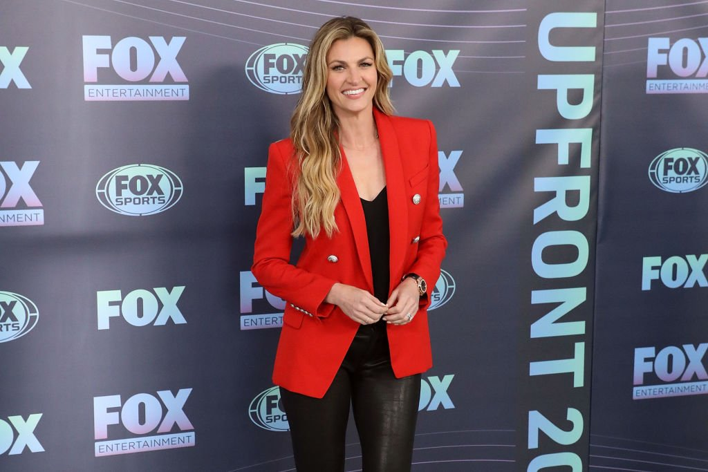 Erin Andrews attends the 2019 Fox Upfront at Wollman Rink, Central Park on May 13, 2019 | Photo: GettyImages