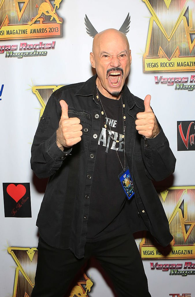 Bob Kulick arrive aux Vegas Rocks ! magazine music awards 2013 à The Joint à l'intérieur du Hard Rock Hotel & Casino le 25 août 2013 à Las Vegas, Nevada. | Photo : Getty Images