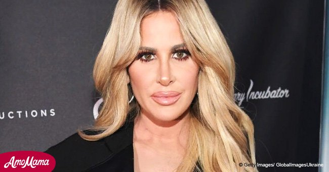 Kim Zolciak-Biermann shows the first pic of her son with the dog that attacked him a year ago