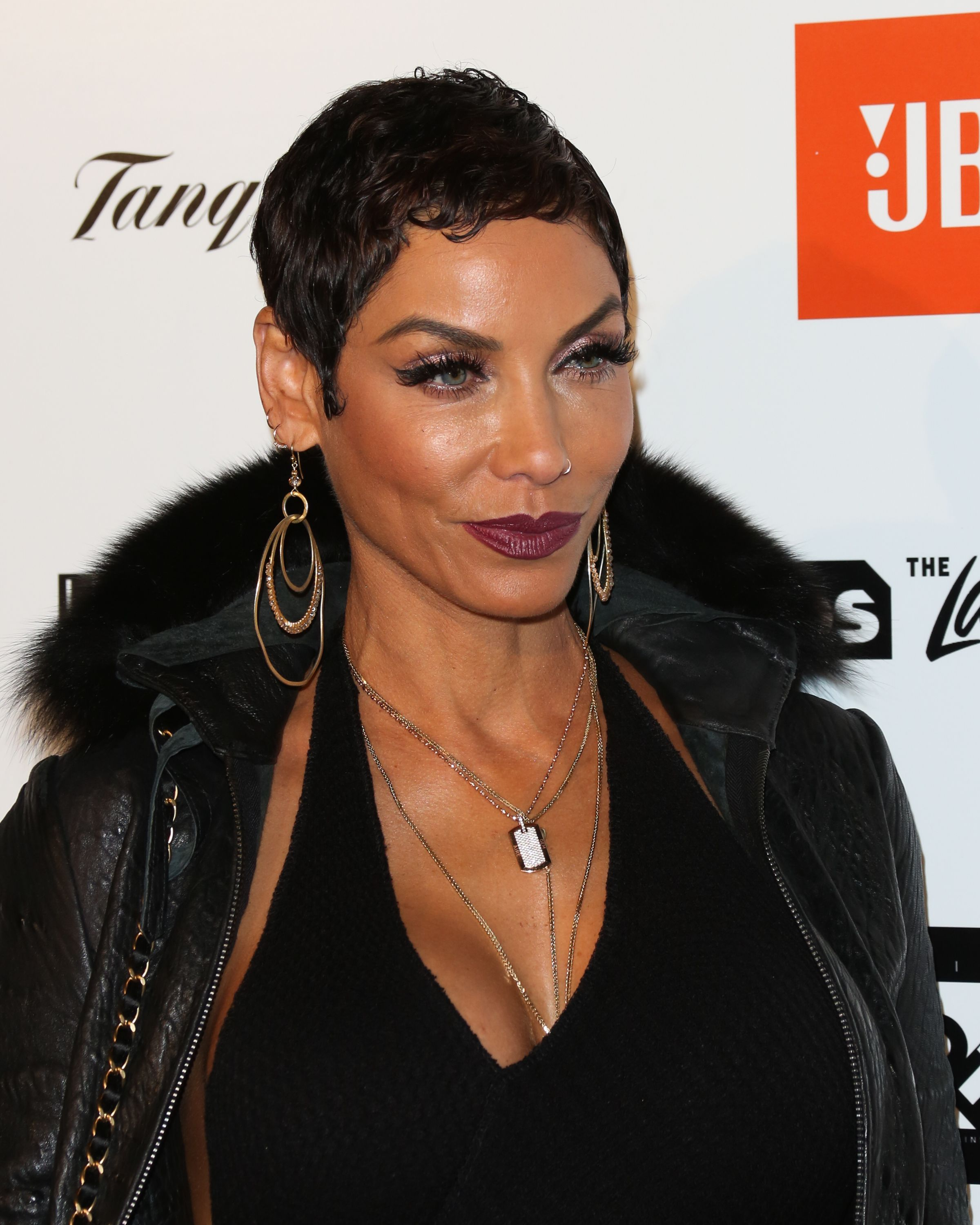 Nicole Murphy at Kenny 'The Jet' Smith's annual All-Star bash in California on February 16, 2018. | Photo: Getty Images