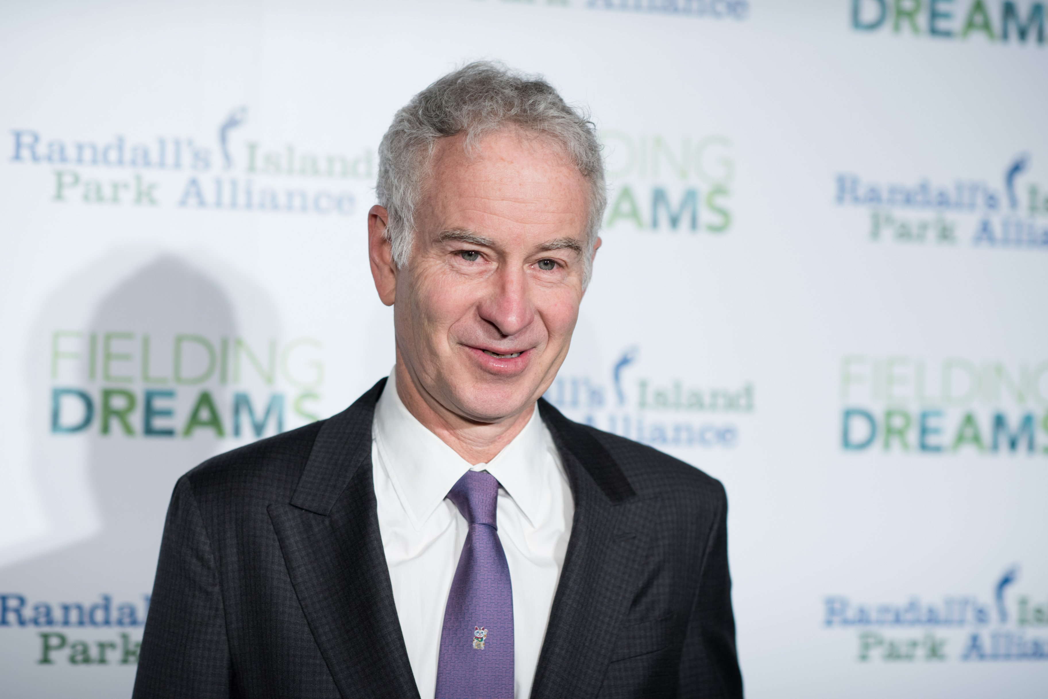 John McEnroe attends the 2016 Randall's Island Park Alliance Fielding Dreams Gala on March 8, 2016 in New York City. | Photo: Getty Images