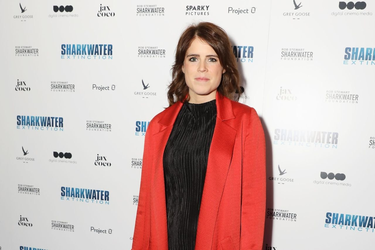 """Princess Eugenie at the Charity Premiere of """"Sharkwater Extinction"""" at the Curzon Soho on December 18, 2018 in London, England 