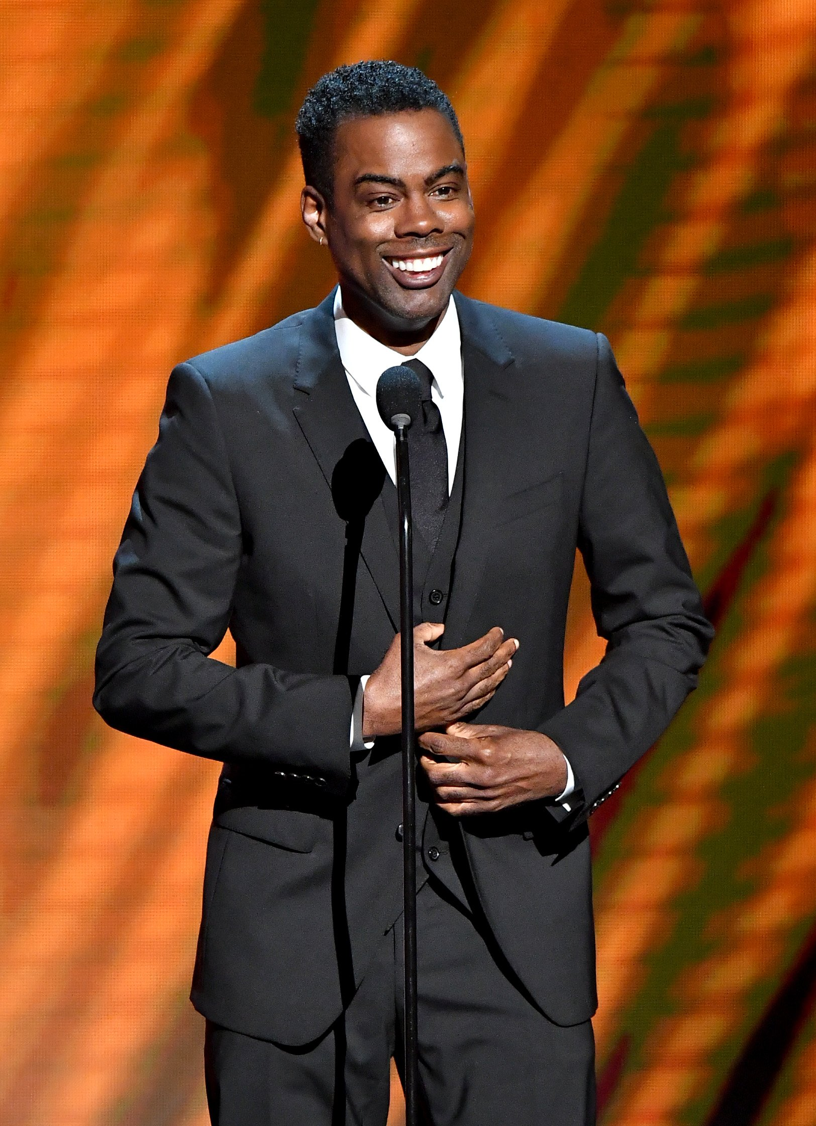 Chris Rock at the 50th NAACP Image Awards at Dolby Theatre on March 30, 2019 in Hollywood, California. | Source: Getty Images
