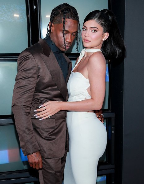Travis Scott and Kylie Jenner at Barker Hangar on August 27, 2019 in Santa Monica, California. | Photo: Getty Images
