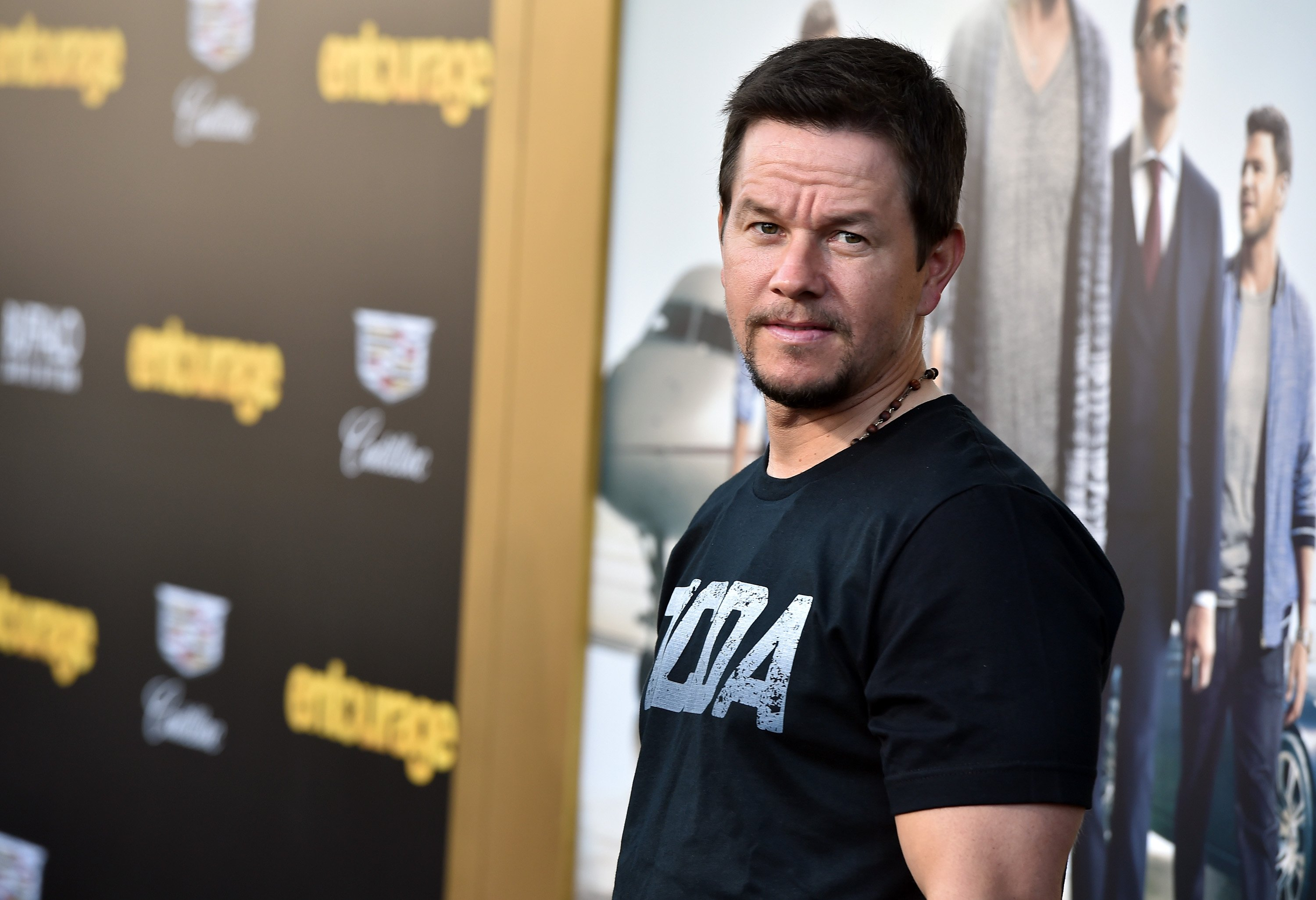 """Mark Wahlberg attends the premiere of Warner Bros. Pictures' """"Entourage"""" on June 1, 2015, in Westwood, California. 