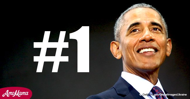 Barack Obama declared America's most admired person, besting current president, Donald Trump