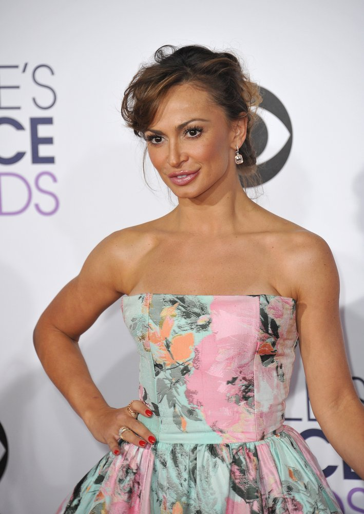 Karina Smirnoff at the People's Choice Awards at the Nokia Theatre L.A. Live in downtown Los Angeles onJanuary 7, 2015   Photo: Shutterstock/Featureflash Photo Agency