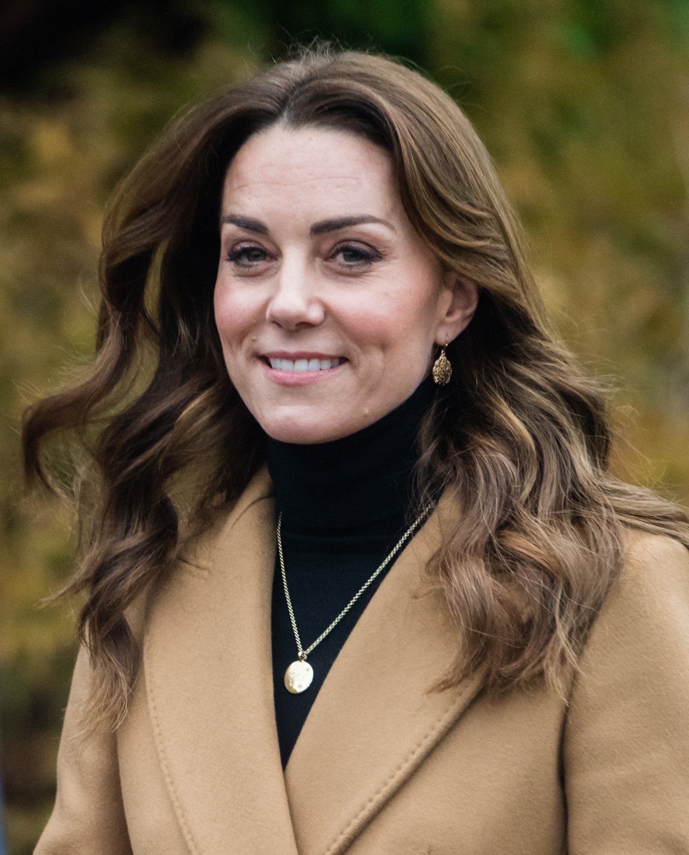 As part of her 24 hour tour of the UK, Kate Middleton visited the HMP, on January 22, 2020 in Woking, England | Source: Getty Images (Photo by Samir Hussein/WireImage)