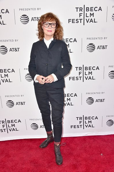 "Susan Sarandon attends the 2017 Tribeca Film Festival - ""Bombshell: The Hedy Lamarr Story"" screening at SVA Theatre in New York City 