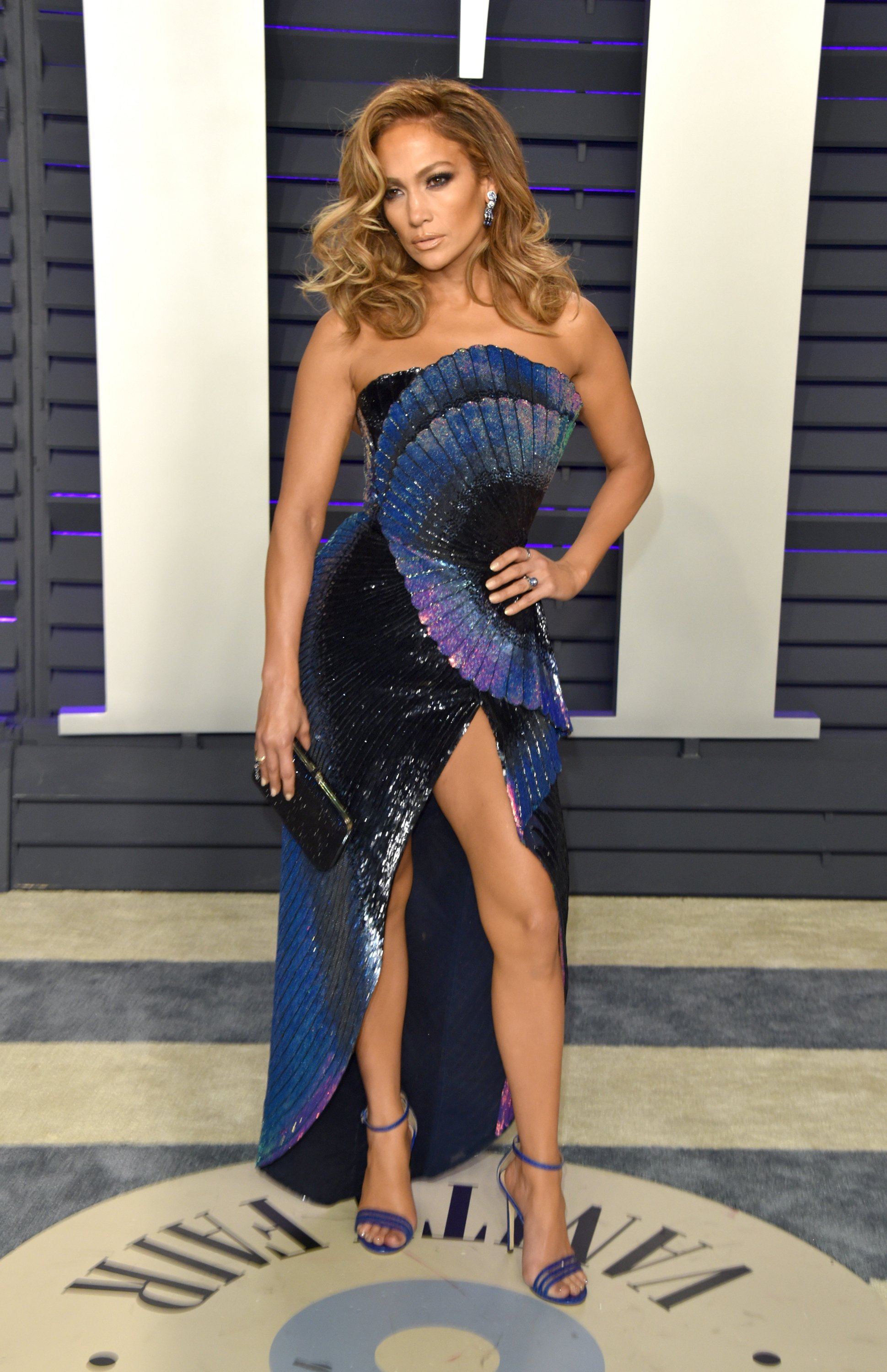 Jennifer Lopez attends the 2019 Vanity Fair Oscar Party at Wallis Annenberg Center for the Performing Arts on February 24, 2019 in Beverly Hills, California | Photo: Getty Images