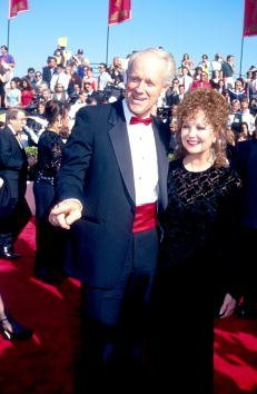 Mike Farrell and Shelley Fabares attend the Emmy Awards September 20, 1993 | Photo: Getty Images
