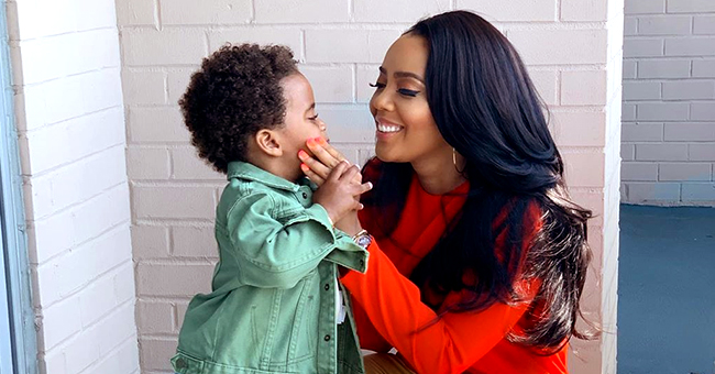 Angela Simmons Slammed for Wearing 'Inappropriate Attire' around 2-Year-Old Son