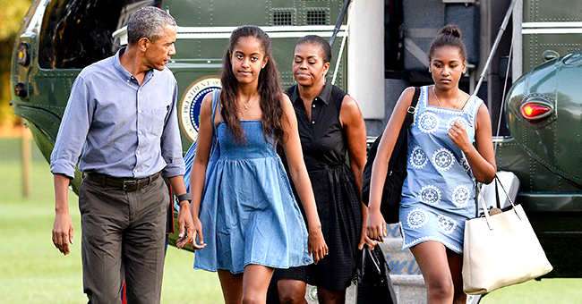 Michelle Obama Sports Her Natural Hair While on France Vacation with Family