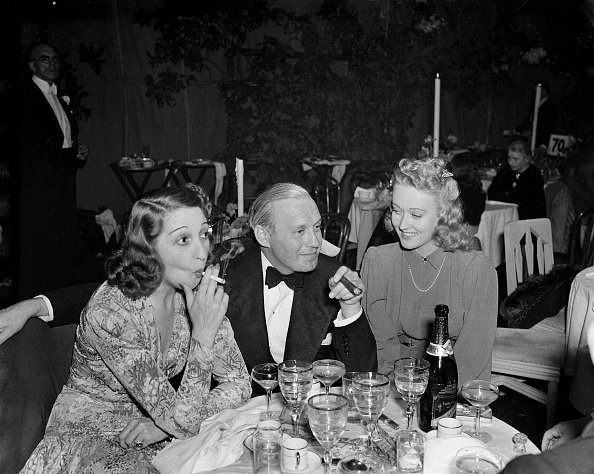 Jack Benny and wife Mary Livingston at an event in Los Angeles, California | Photo: Getty Images