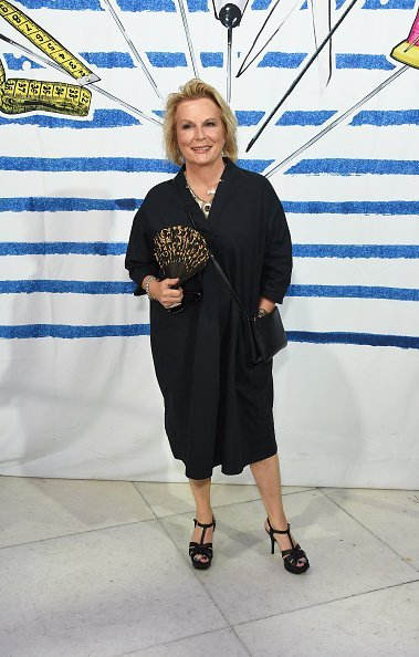 """Jennifer Saunders attends the press night performance of """"Jean-Paul Gaultier: Fashion Freak Show"""" at The Southbank Centre on July 24, 2019 in London, England 