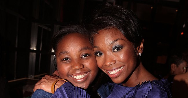 Brandy's Only Daughter Sy'Rai Responds to Date Request with Pic of Her Dad & Gushes about Life with Famous Mom