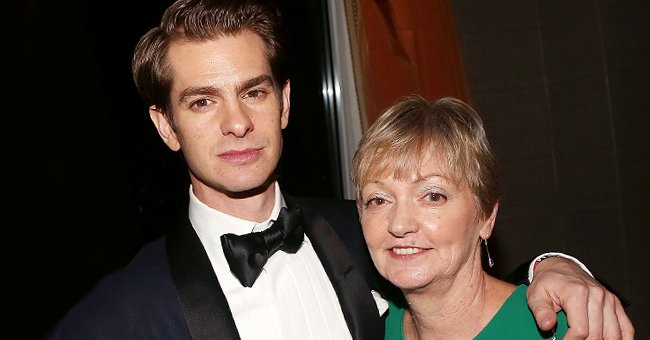 Andrew Garfield and mother Lynn Garfield at the 2018 O&M Private Tony After Party at The Carlysle Hotel in New York City | Photo: Bruce Glikas/Bruce Glikas/FilmMagic via Getty Images