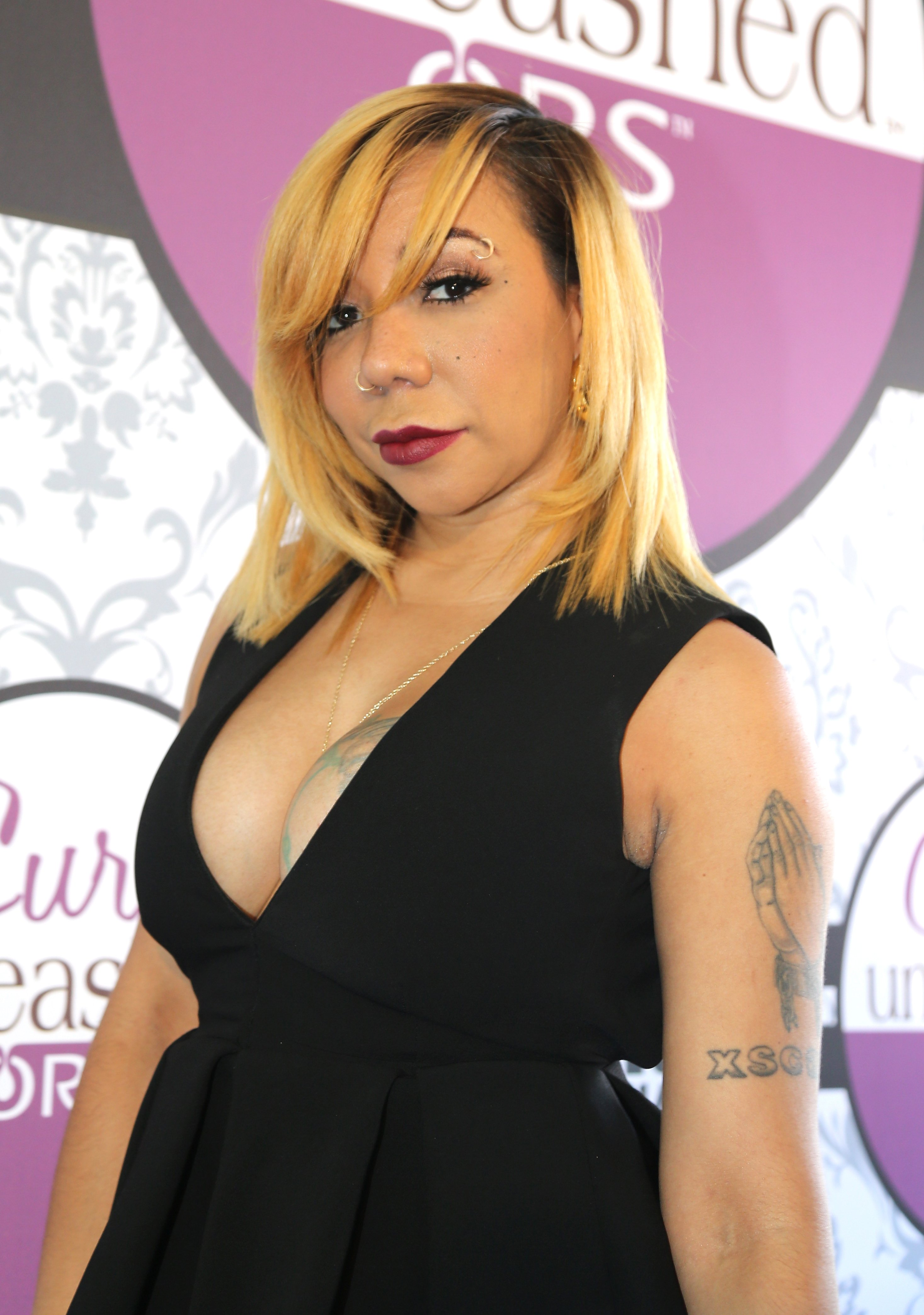 """Tameka """"Tiny"""" Harris at the BET Hip Hop Awards 2014 on September 20, 2014.   Photo: Getty Images"""