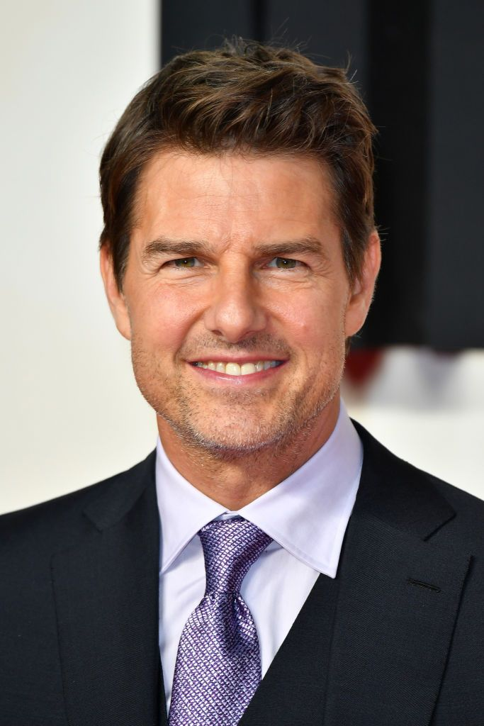 """Tom Cruise at the UK premiere of """"Mission: Impossible - Fallout"""" at BFI IMAX in London, England 