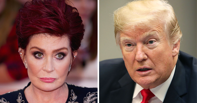 Sharon Osbourne Claps Back at Donald Trump for Using Her Husband Ozzy's Song without Permission