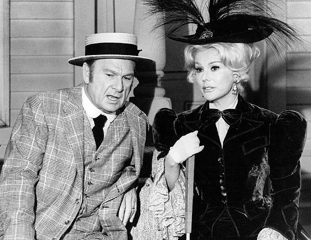 """Eddie Albert and Eva Gabor from the television comedy """"Green Acres"""" in 1969. 