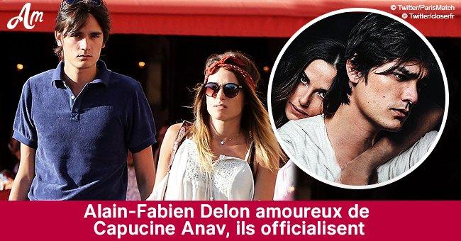 C'est enfin officiel: Alain-Fabien Delon et Capucine Anav sont en couple