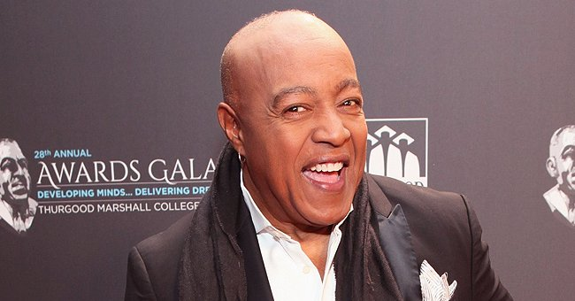 Peabo Bryson's Little Son Is Spitting Image of Him While Posing in Blue T-Shirt on 4th of July