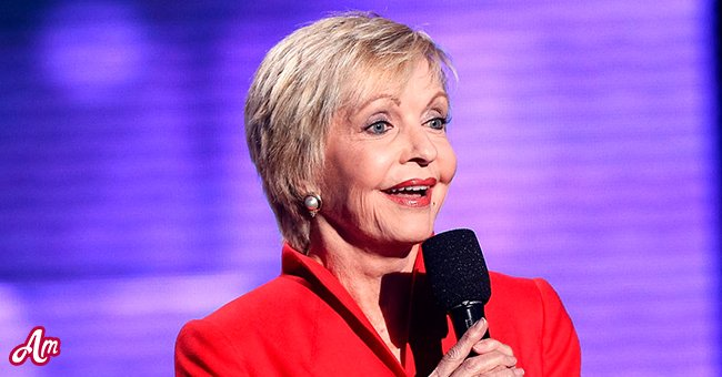 """A picture of """"The Brady Bunch"""" show star Florence Henderson 
