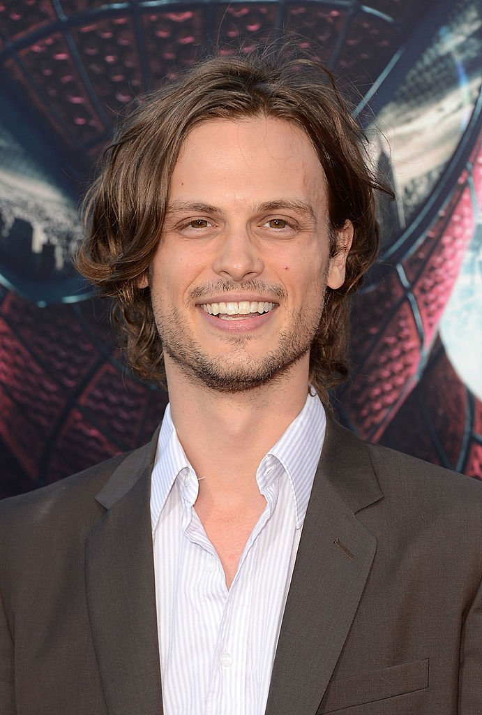 "Matthew Gray Gubler arrives at the premiere of ""The Amazing Spider-Man"" 