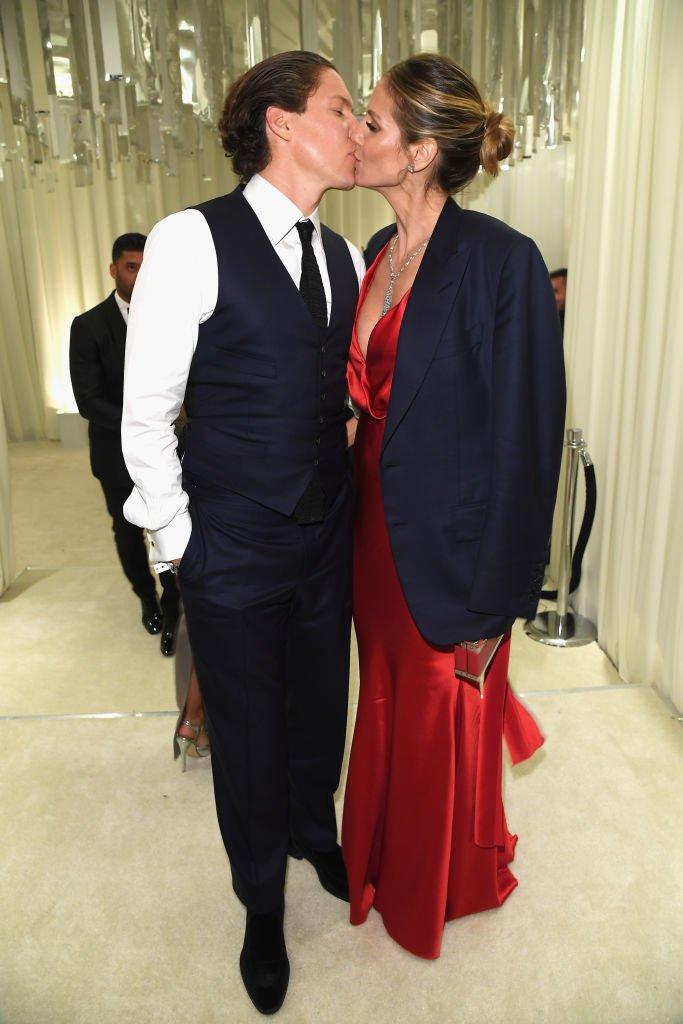 Vito Schnabel und Heidi Klum, Los Angeles, USA, 2017 | Quelle: Getty images