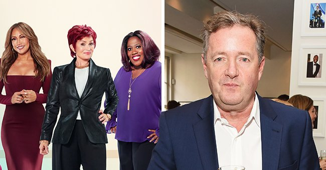 'The Talk' Host Sharon Osborne Tears up Defending Piers Morgan over Meghan Markle Criticisms