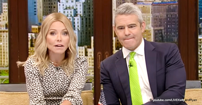 Kelly Ripa Accidentally Grabbed Andy Cohen's Crotch While on Live TV