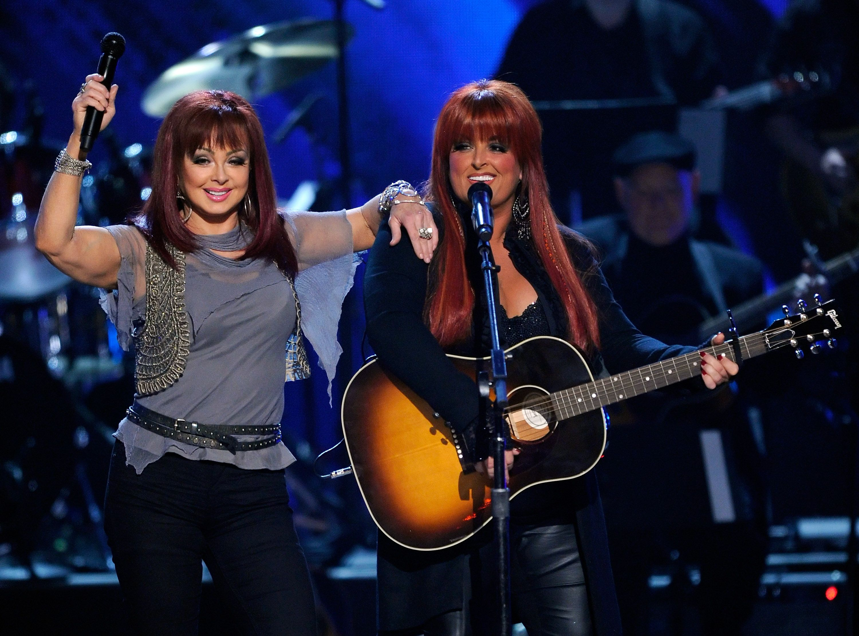 Naomi Judd and Wynonna Judd during ACM Presents: Girls' Night Out: Superstar Women of Country concert held at the MGM Grand Garden Arena on April 4, 2011 in Las Vegas, Nevada. | Source: Getty Images