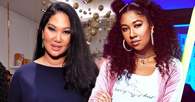 Kimora Lee Simmons' Daughter Aoki Lee Shares TikTok Video of Herself Dancing to Doja Cat's 'Say So'
