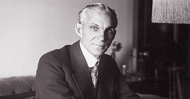 American industrialist and pioneer in the motor vehicle industry, Henry Ford | Photo: Getty Images