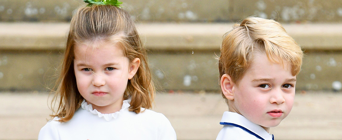 Previously Unseen Photo of Prince William Posing with George, Charlotte, and Louis