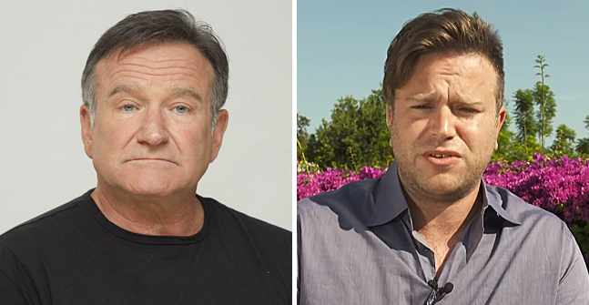 Robin Williams Son Zak Felt Helpless during His Father's Struggle with Mental Pain