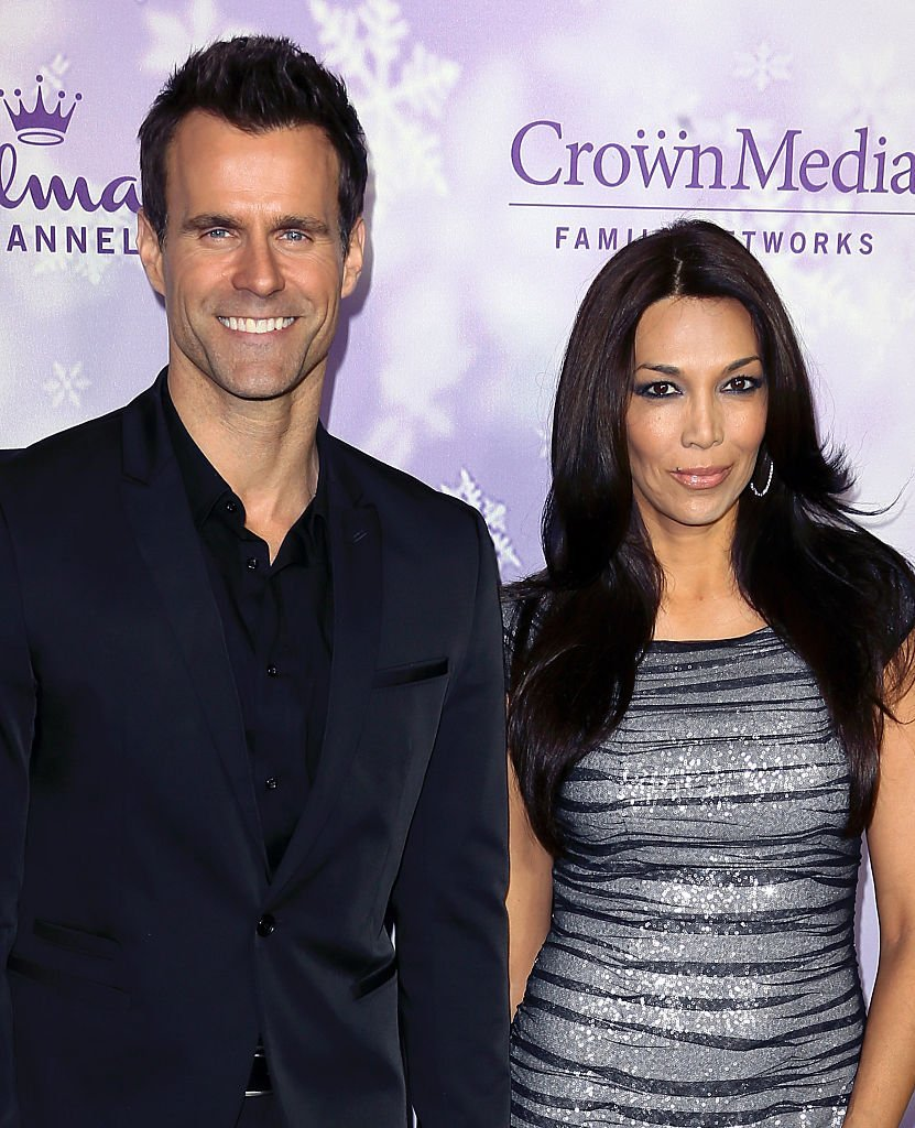 Cameron Mathison and Vanessa Arevalo attend Hallmark's TCA press tour in Pasadena, California on January 8, 2016 | Photo: Getty Images