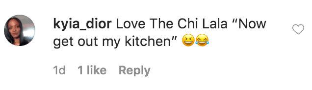 A fan commented on a photo of La La Anthony and Jacob Latimore in a still photo from an episode of The Chi | Source: Instagram.com/lala
