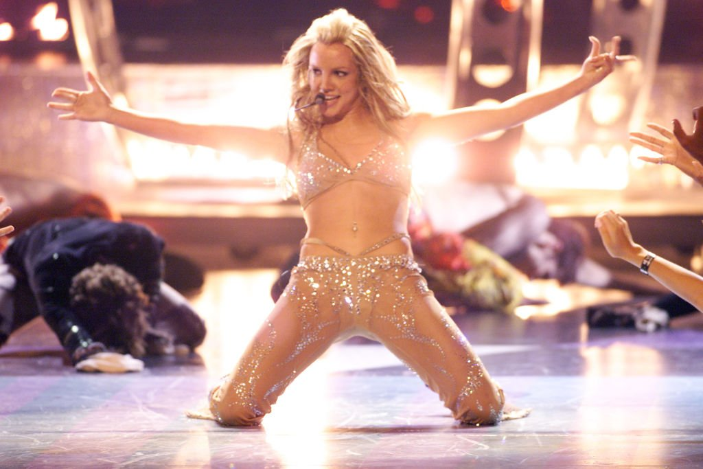 Britney Spears at Radio City Music Hall on September 7, 2000 | Photo: Getty Images